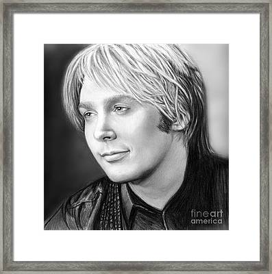 Always Clay For His Fans Framed Print by Carliss Mora