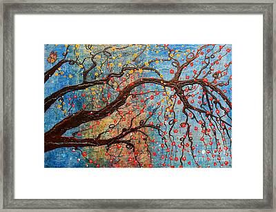 Framed Print featuring the mixed media Always Dream by Natalie Briney