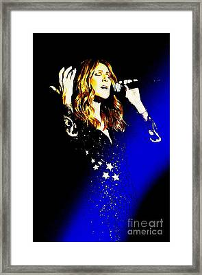 Always From The Soul Framed Print