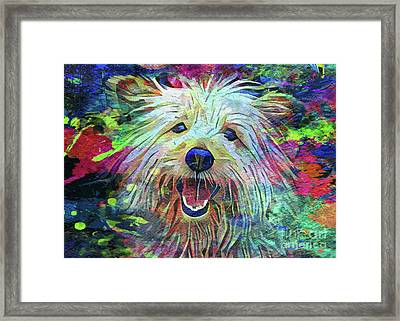 Let's Go Outside Framed Print by Jon Neidert