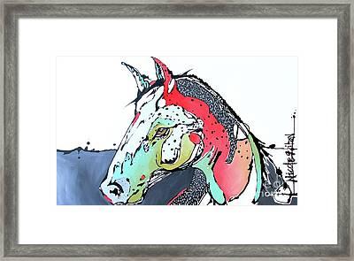 Always Look Ahead Framed Print by Nicole Gaitan