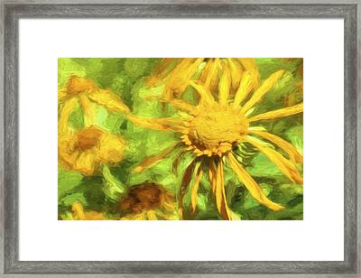 Always Look On The Bright Side Framed Print