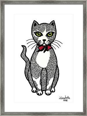 Always Looking For A Lovely Kitten Framed Print