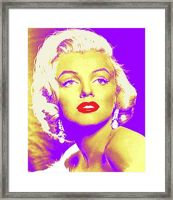 Always Marilyn Framed Print by Joy McKenzie