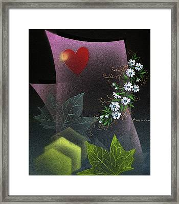 Always Spring For Love Framed Print