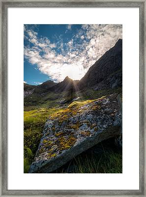Always Sunny In Lofoten Framed Print by Tor-Ivar Naess