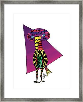 Always Thinking Gooniebird Framed Print