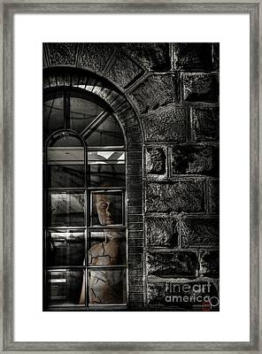 Always Watching Framed Print by Luke Griffin