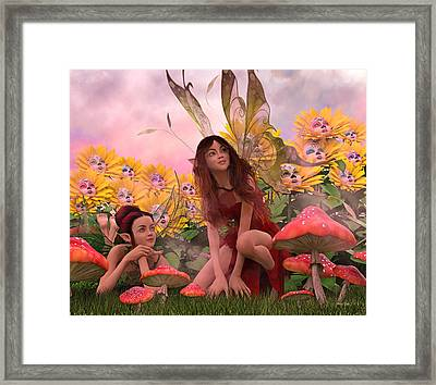 Always Watching Over You Framed Print by Betsy Knapp