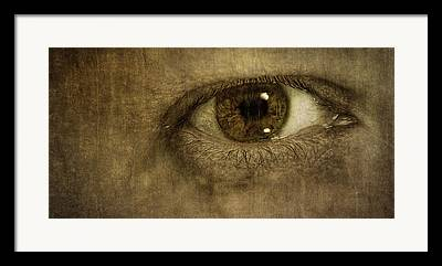 Window To The Soul Framed Prints