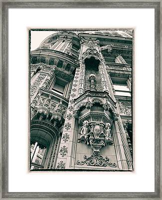 Alwyn Court Building Framed Print by Jessica Jenney