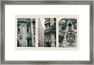 Alwyn Court Triptych Framed Print by Jessica Jenney