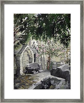 Alyscamps Framed Print by Gerold Kalter