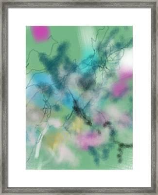 Alzheimer Work  Framed Print