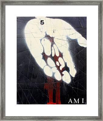 Am I Framed Print by Iain Barnes