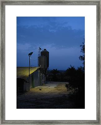 AM Framed Print by Yula Sander