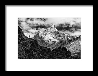 Climb Framed Prints