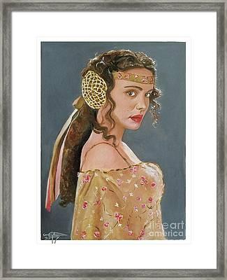Amadala Framed Print by Tom Carlton