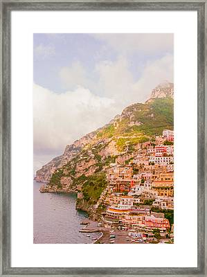 Amalfi Coast Italy 2 Framed Print