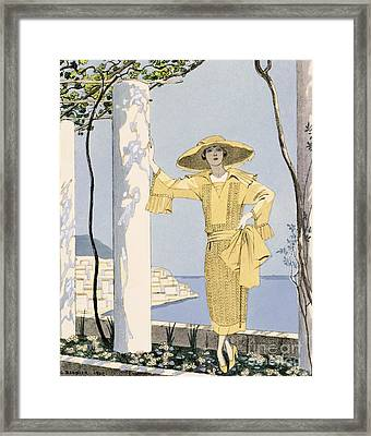 Amalfi Framed Print by Georges Barbier