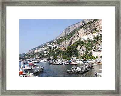 Amalfi Coast Italy Framed Print
