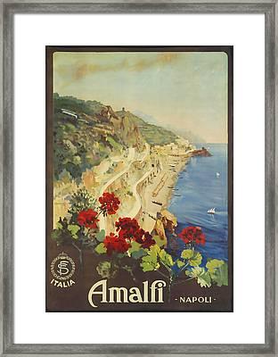 Amalfi Napoli Framed Print