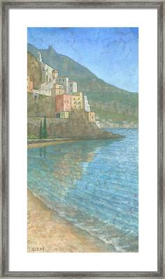Amalfi Framed Print by Steve Mitchell