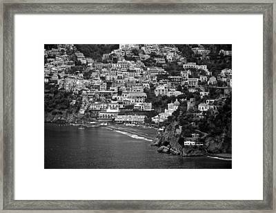 Amalfi's Positano Framed Print