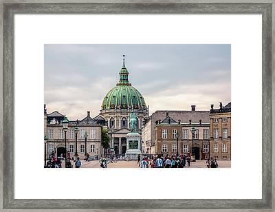 Amalienborg Framed Print