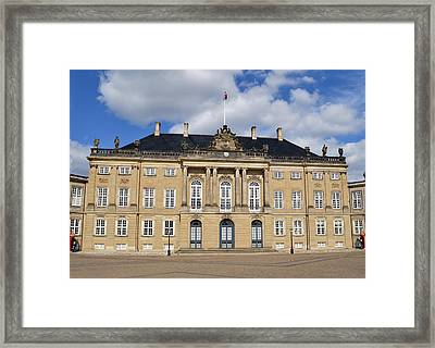 Amalienborg Palace. Framed Print by Terence Davis