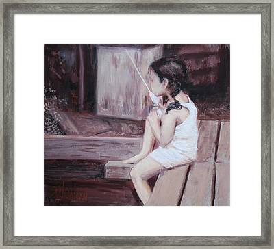 Amanda Framed Print by Billie Colson