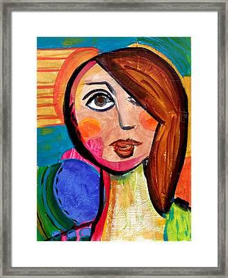 Amanda - Vivid Vixen 1 Framed Print