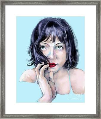 Amanda Framed Print