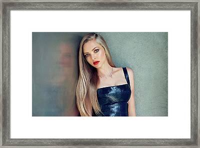Amanda Seyfried 2015 Framed Print