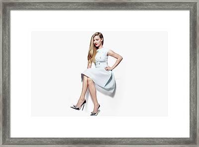 Amanda Seyfried 2016 Framed Print
