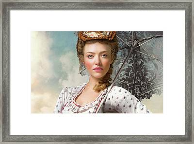 Amanda Seyfried In A Million Ways To Die In The West Framed Print