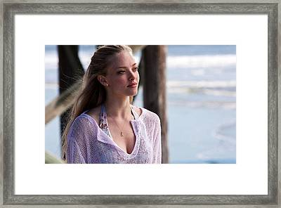 Amanda Seyfried In Dear John Framed Print