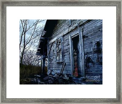 Amanda Framed Print by Tom Straub