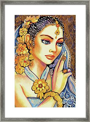 Framed Print featuring the painting Amari by Eva Campbell