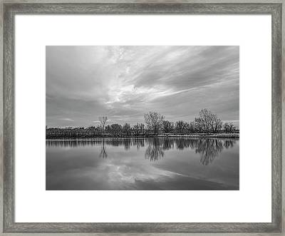 Amarillo Sky Framed Print
