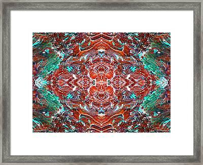 Amassed Existence Framed Print