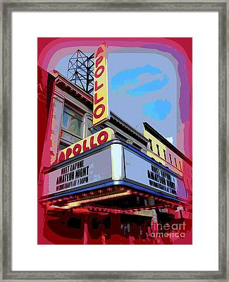 Amateur Night At The Apollo Framed Print by Ed Weidman