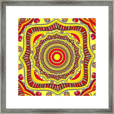 Framed Print featuring the digital art Amaze Me by Shelley Bain