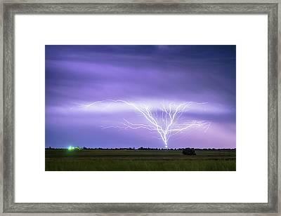 Amazing Anvil Lightning Creepy Crawlers Framed Print