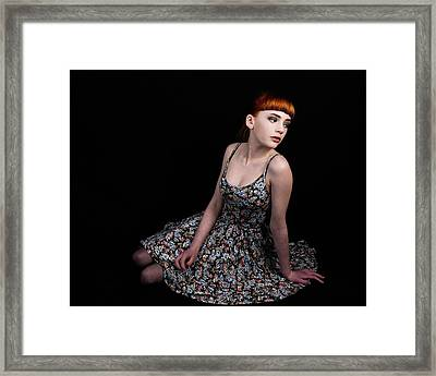 Amazing Beauty Framed Print