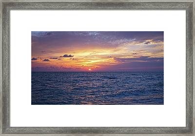 Amazing Colors Framed Print