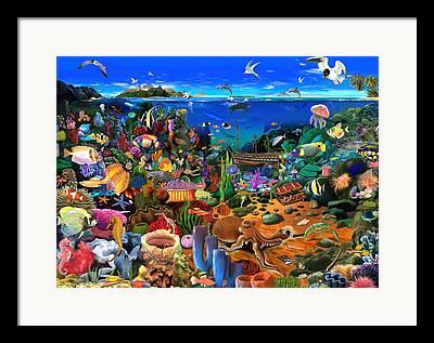 Gerald Framed Prints
