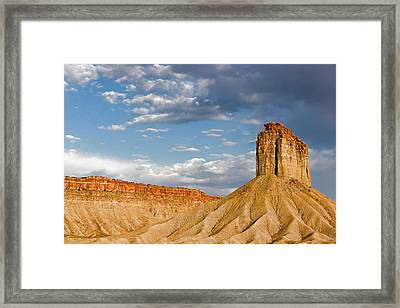 Amazing Mesa Verde Country Framed Print by Christine Till