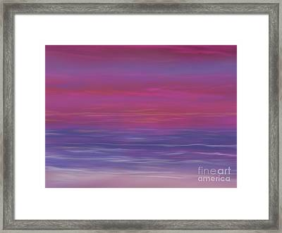 Amazing Sunset Framed Print by Roxy Riou