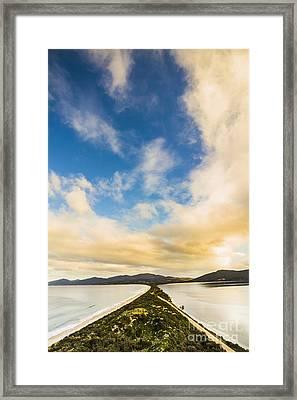 Amazing Tasmania Destinations Framed Print